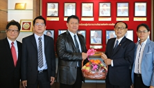 สาขาวิชาการจัดการฟุตบอลอาชีพ เข้าพบผู้ว่าการการกีฬาแห่งประเทศไทย