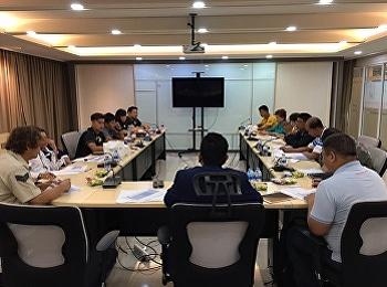 ประชุมคณะกรรมการจัดการแข่งขันฟุตบอลลีกอุดมศึกษาหญิงแห่งประเทศไทย ประจำปี 2563
